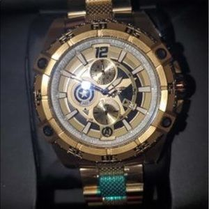 Limited edition gold marvel Invicta watch